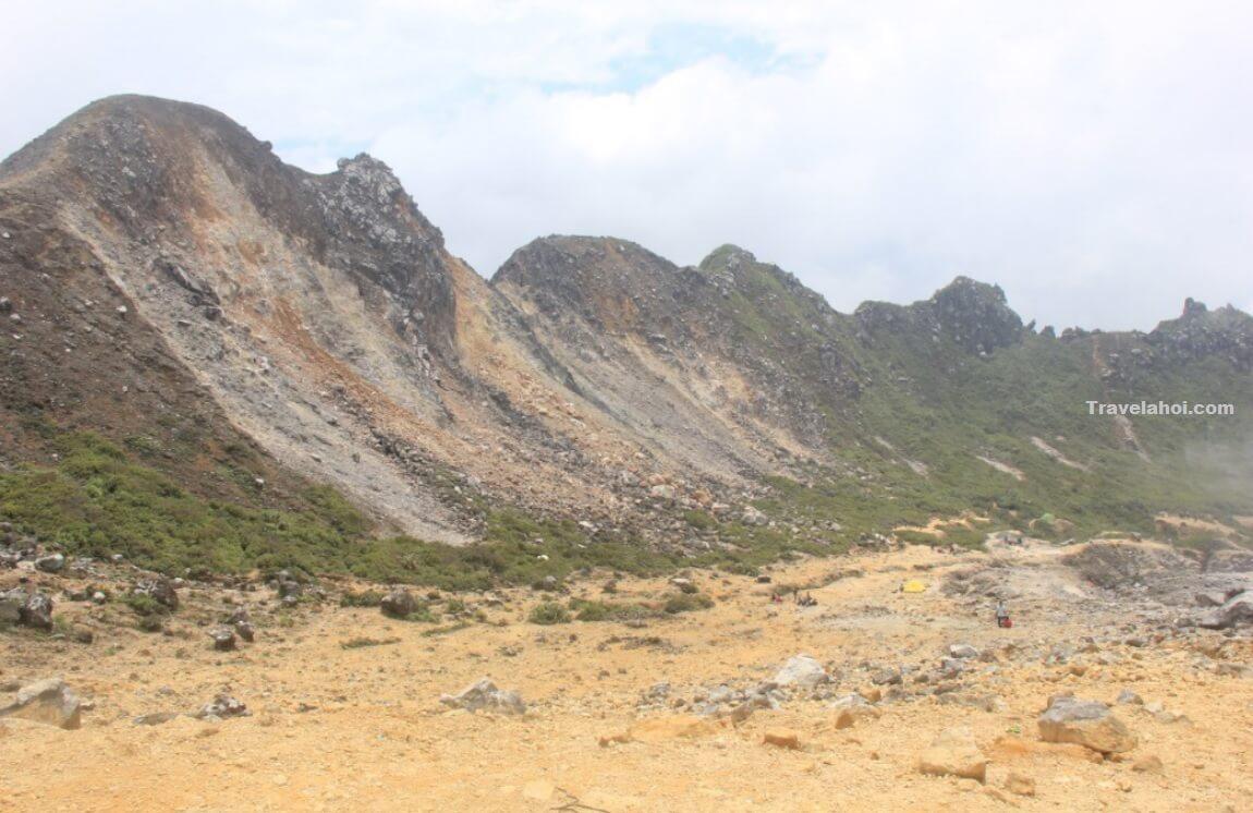 Gambar Gunung Sibayak