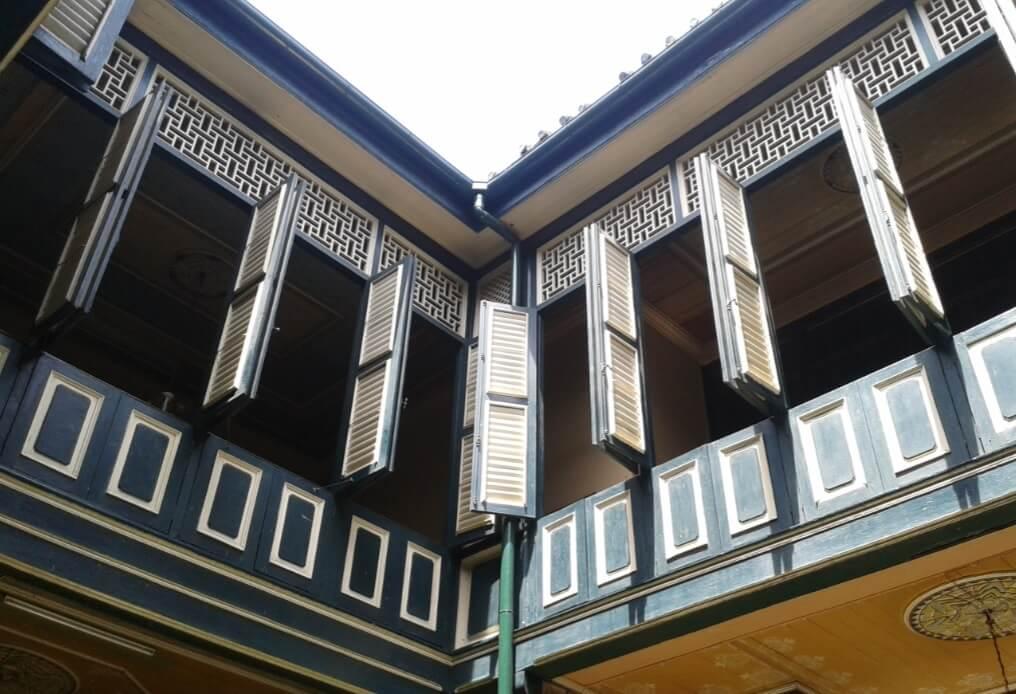 Jendela Rumah Tjong A Fie