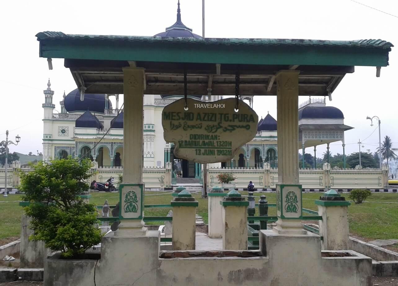 Masjid Azizi Tanjung Pura - Langkat